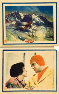 "The White Hell of Pitz Palu (Universal, 1929). Lobby Cards (2) (11"" X 14""). ... (Total: 2 Items)"