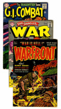 Silver Age (1956-1969):War, Miscellaneous 50s and Silver Age War Comics (Various Publishers, 1951-65) Condition: Average VG-.... (Total: 13 Comic Books)