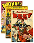 Golden Age (1938-1955):Miscellaneous, Nedor Golden Age Miscellaneous Group (Nedor, 1940s-50s).... (Total: 7 Comic Books)