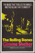 "Movie Posters:Rock and Roll, Gimme Shelter (20th Century Fox, 1970). One Sheet (27"" X 41""). Rockand Roll.. ..."