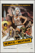 """Movie Posters:Exploitation, The Doll Squad (Dinero, 1973). One Sheet (27"""" X 41""""). Exploitation.Also known as Seduce and Destroy.. ..."""