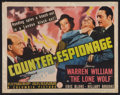 "Movie Posters:Mystery, Counter-Espionage (Columbia, 1942). Title Lobby Card (11"" X 14"").Mystery.. ..."