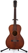 Musical Instruments:Acoustic Guitars, Vintage Gibson Project Cherry Stain Acoustic Guitar, #N/A....