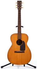 Musical Instruments:Acoustic Guitars, 1947 Martin 00-17 Natural Acoustic Guitar, #101435....