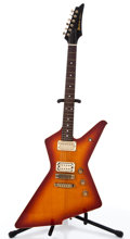 Musical Instruments:Electric Guitars, 1981 Ibanez Destroyer II Sunburst Solid Body Electric Guitar#J814901....
