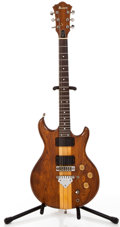 Musical Instruments:Electric Guitars, Ibanez Musician Walnut Solid Body Electric Guitar, #A780580....