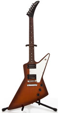 Musical Instruments:Electric Guitars, 2001 Gibson Explorer Sunburst Solid Body Electric Guitar#00161635....