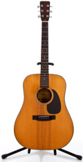 Musical Instruments:Acoustic Guitars, Aria 760 Natural Acoustic Guitar #1210....