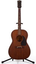 Musical Instruments:Acoustic Guitars, 1950's Gibson LGO Cherry Acoustic Guitar #25826....