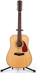 Musical Instruments:Acoustic Guitars, 2000's Fender DG14S/12 Natural 12 String Acoustic Guitar #00047463....