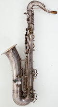 Musical Instruments:Horns & Wind Instruments, Martin Low Pitch Silver Alto Saxophone #32649....