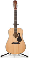 Musical Instruments:Acoustic Guitars, Alvarez RD20S12 Natural 12 String Acoustic Guitar #F40616341....