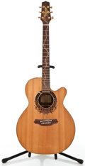 Musical Instruments:Electric Guitars, 1999 Takamine LTD-2000 Natural Acoustic Electric Guitar#99120578....