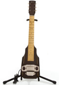 Musical Instruments:Lap Steel Guitars, Vintage Harmony Brown Lap Steel Guitar #N/A....