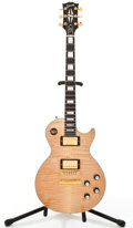 Musical Instruments:Electric Guitars, 2006 Gibson Les Paul 68 Custom F Maple Flame Solid Body Electric Guitar #073868....
