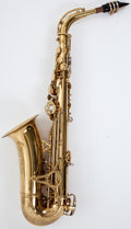 Musical Instruments:Horns & Wind Instruments, King Zephyr Brass Alto Saxophone #308566....