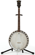 Musical Instruments:Banjos, Mandolins, & Ukes, Gibson Project Brown Stain Tenor Banjo #59150....