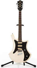 Musical Instruments:Electric Guitars, 1979 Guild S-70 White Solid Body Electric Guitar #206801....