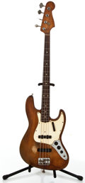 Musical Instruments:Bass Guitars, 1965 Fender Jazz Refinished Electric Bass Guitar #L67921....