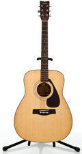 Musical Instruments:Acoustic Guitars, Yamaha FG-335 Natural Acoustic Guitar #1329558....