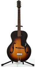 Musical Instruments:Acoustic Guitars, Circa 1960 Gretsch New Yorker Sunburst Archtop Acoustic Guitar#36150....
