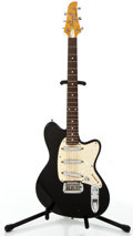 Musical Instruments:Electric Guitars, Ibanez Talman Black Solid Body Electric Guitar #F432771....