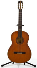 Musical Instruments:Acoustic Guitars, Garcia Grade No. 2 Orange Stain Classical Acoustic Guitar, #535....