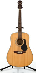 Musical Instruments:Acoustic Guitars, Alvarez RD10 Natural Acoustic Guitar, #S00071296....