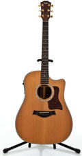 Musical Instruments:Acoustic Guitars, 1998 Taylor 710 CE Natural Acoustic Electric Guitar #980227119....