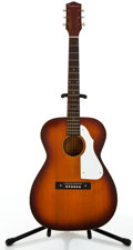 Musical Instruments:Acoustic Guitars, Silvertone 319.1214 Sunburst Acoustic Guitar #3252....