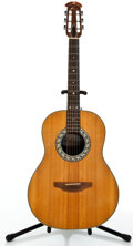 Musical Instruments:Acoustic Guitars, Ovation 1114 Natural Acoustic Guitar #178977....