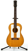 Musical Instruments:Acoustic Guitars, 1969 Gibson F25 Natural Acoustic Guitar, #841990....