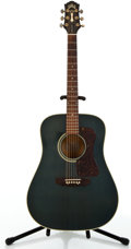 Musical Instruments:Acoustic Guitars, 1993 Guild D30-WG Blue Acoustic Guitar #D301072....