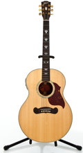 Musical Instruments:Acoustic Guitars, 2003 Gibson L-140 Natural Acoustic Electric Guitar #00283015....