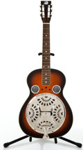 Musical Instruments:Resonator Guitars, Recent Rogue Square Neck Sunburst Lap Resonator Guitar #N/A....