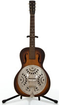 Musical Instruments:Resonator Guitars, Dobro F-60 Sunburst Resonator Guitar #N/A....