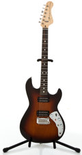 Musical Instruments:Electric Guitars, 1980's G & L F-100 Sunburst Solid Body Electric Guitar #N/A....