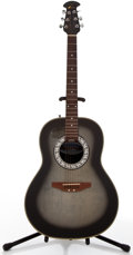 Musical Instruments:Acoustic Guitars, Celebrity By Ovation CC11 Gray Sunburst Acoustic Guitar,#486392....