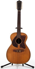 Musical Instruments:Acoustic Guitars, Vintage Guild Project Natural 12 String Acoustic Guitar, #38360....
