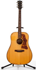 Musical Instruments:Acoustic Guitars, 1973-75 Gibson J55 Natural Acoustic Guitar, #A312851....
