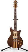 Musical Instruments:Electric Guitars, 1979-80 Gretsch BST 5000 Walnut/Maple Solid Body Electric Guitar,.#N/A...