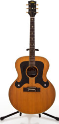 Musical Instruments:Acoustic Guitars, 1970's Aria HF-9440 Natural Acoustic Guitar, #N/A....