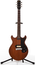 Musical Instruments:Electric Guitars, 1965 Gibson Melody Maker Walnut Electric Guitar, #313414....