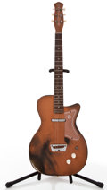 Musical Instruments:Electric Guitars, Vintage Danelectro U1 Copper Solid Body Electric Guitar, #N/A....