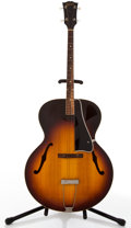 Musical Instruments:Acoustic Guitars, 1957 Gibson TG50 Sunburst Archtop Tenor Acoustic Guitar #U2747 22....