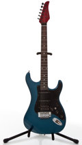 Musical Instruments:Electric Guitars, Striker By Kramer ST300 Blue Solid Body Electric Guitar #N/A....