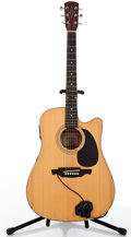 Musical Instruments:Acoustic Guitars, Alvarez RD20CU Natural Acoustic Electric Guitar, #00070301....