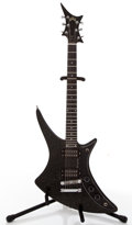 Musical Instruments:Electric Guitars, 1983 Guild X-79 Skyhawk Metallic Black Solid Body Electric Guitar#AD100352....