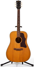 Musical Instruments:Acoustic Guitars, Vintage Gibson J-45/50 Project Guitar Natural Acoustic Guitar, #00170797....