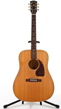 Musical Instruments:Acoustic Guitars, 1993 Gibson Gospel Natural Acoustic Guitar, #93333006....
